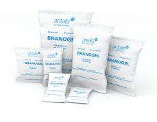 Branogel dehydratiezakjes - droogmiddelkorrels in papieren zakjes