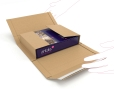 Verzendverpakking voor multimedia producten, vouwbaar